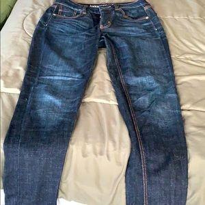 American Eagle slim cut jeans.